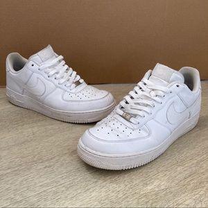 Men's Nike Air Force 1 Size 11 White